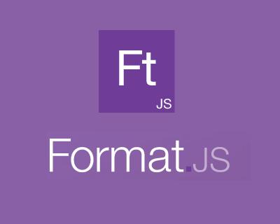 FormatJS – JavaScript Libraries for Internationalization