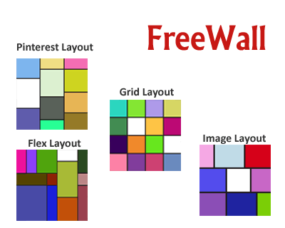 FreeWall – Dynamic Grid Layout Without Gaps | jQuery Plugins