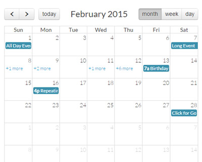 Pictures Of Fullcalendar Jquery | New Calendar Template Site