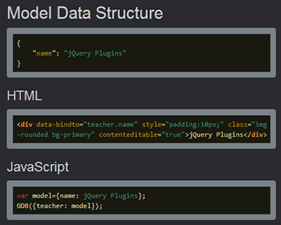 Generic Data Binder for jQuery