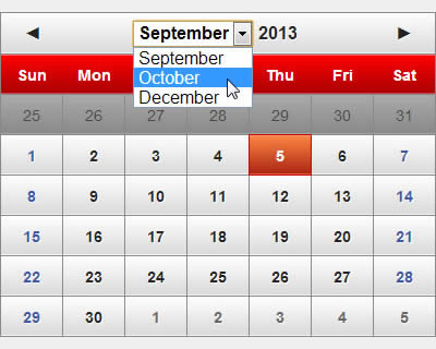 glDatePicker – Customizable Date Picker jQuery Plugin