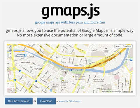 gmaps.js - Easiest Way to Use Google Maps