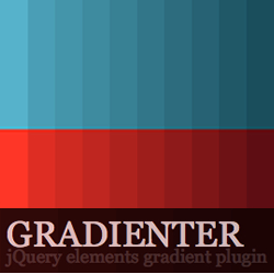 Gradienter - jQuery Elements Gradient Plugin