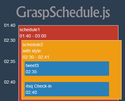 GraspSchedule.js – jQuery Calendar Plugin for Schedules & Events