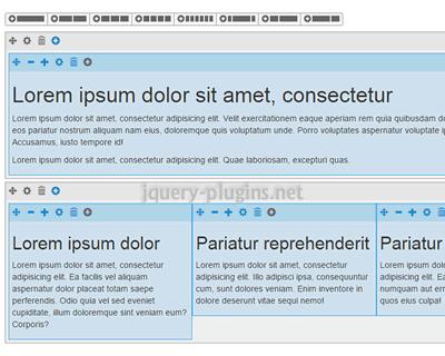 Grid Editor – WYSIWYG Editor for Bootstrap Grid System
