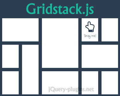 Gridstack.js – jQuery Plugin for Widget Layout