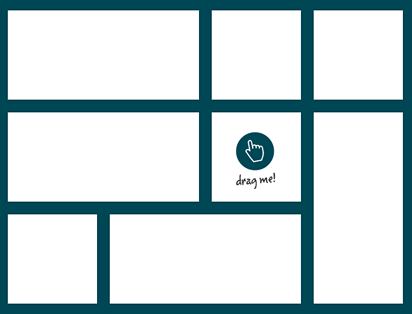 Gridster.js – Drag & Drop Multi-Column jQuery Grid Plugin