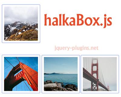 halkaBox.js – Simple Javascript Lightbox