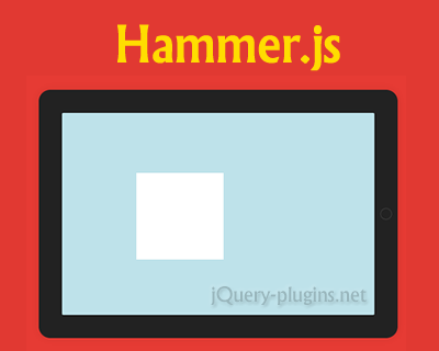 Hammer.js – Javascript Library for Multi-Touch Gestures
