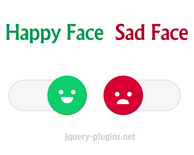 Happy Face to Sad Face Switch