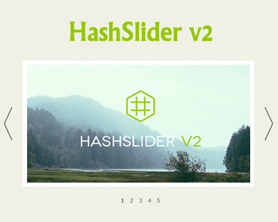 HashSlider – jQuery Slider with Hashtag Support