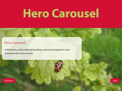 Hero Carousel – jQuery Carousel Plugin with 100% Width