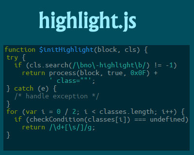 highlight.js – JavaScript Syntax Highlighter