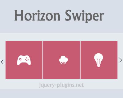 Horizon Swiper – Lightweight jQuery Swiper Plugin