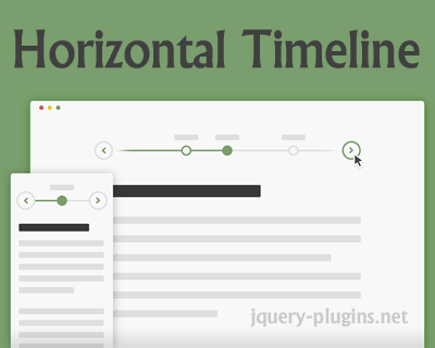 Horizontal Timeline with CSS and jQuery