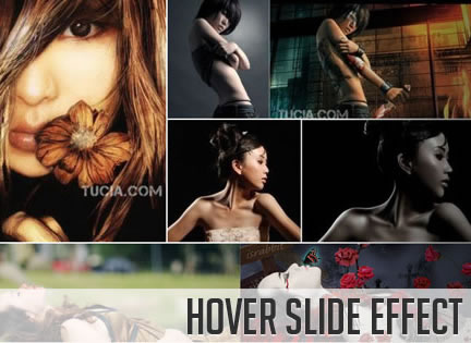 Hover Slide Effect with jQuery