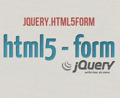 html5form – Customizable jQuery HTML5 Form Plugin