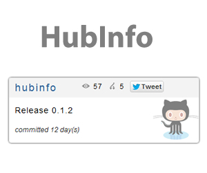 HubInfo –  jQuery Plugin To Show Information About Your Github Repo