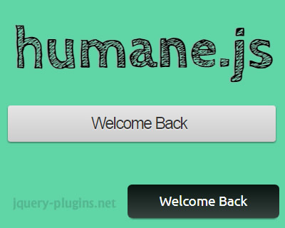 Humane.js – Simple, Modern, Browser Notification System