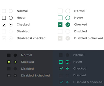 iCheck – jQuery Plugin for Checkboxes and Radio Buttons Custom Styling