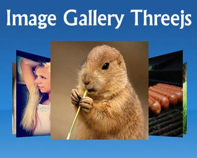 Image Gallery Threejs