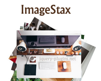 ImageStax – Scattered Stacked Image Gallery