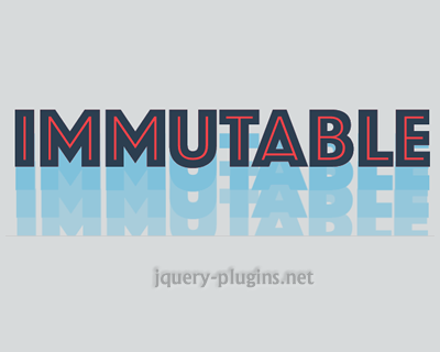 Immutable Collections for JavaScript