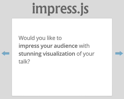 impress.js – Presentation Framework Based On CSS3