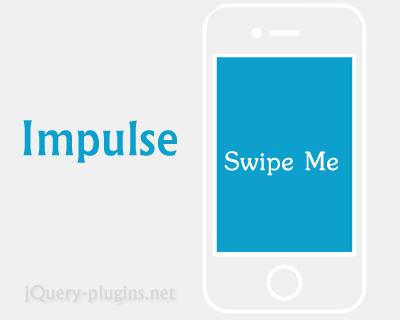 Impulse – Dynamics Physics Animations for Mobile Web