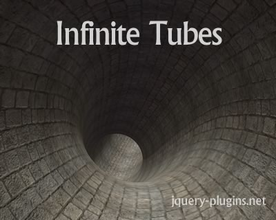Infinite Tubes with Three.js
