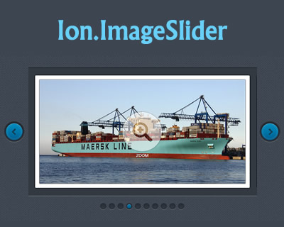 Ion.ImageSlider – jQuery Image Slider with Lightbox and Skin Support