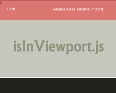 isInViewport.js – jQuery Plugin to Check If Element is in Viewport