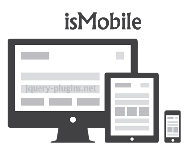 isMobile – Javascript Library to Detect Mobile Devices