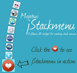 jStackmenu - Beautiful Stack Menu