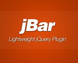 jBar – jQuery Call-to-Action Bar