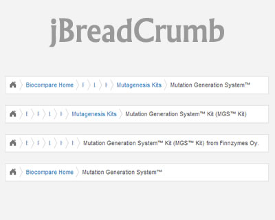 jBreadCrumb - Collapsible Breadcrumb Navigation With jQuery