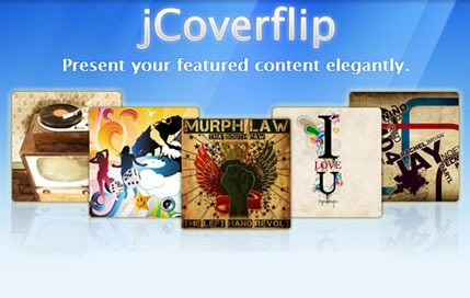 JCoverflip – jQuery Coverflow Plugin