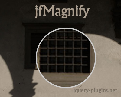 jfMagnify – jQuery Plugin to Create Magnify Glass Effect
