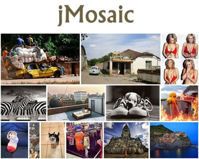 jMosaic – jQuery Plugin for Align Elements