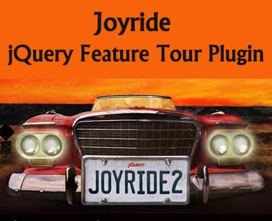 Joyride – jQuery Feature Tour Plugin