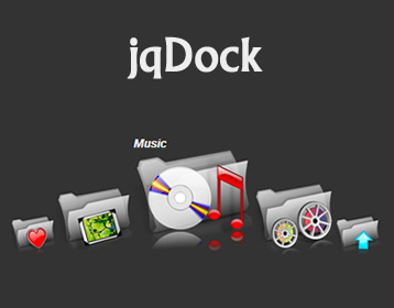 jqDock – Mac Like Dock Menu jQuery Plugin