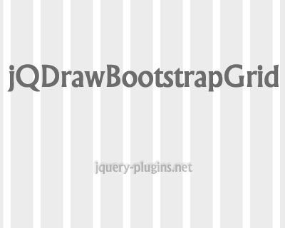 jQDrawBootstrapGrid – Draws Grid Columns to Bootstrap Enabled Layout