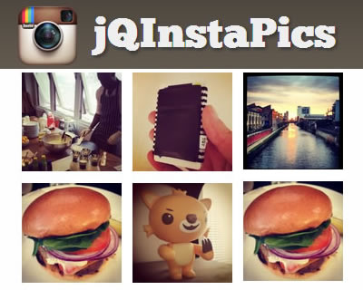 jQInstaPics – Showcase Instagram Photos Using jQuery