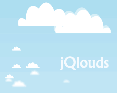 jQlouds – jQuery Plugin to Create Clouds on the Fly