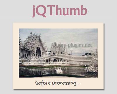 jQThumb – jQuery Plugin to Create Thumbnails