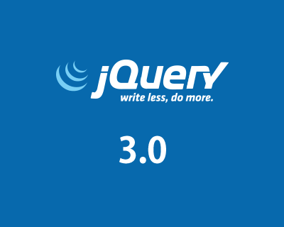 jQuery 3.0 Final Released!