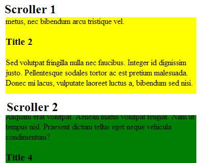 jQuery Auto Scroller