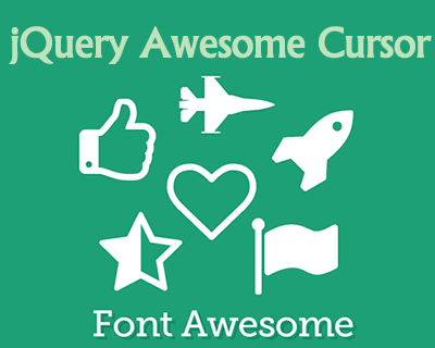 jQuery Awesome Cursor