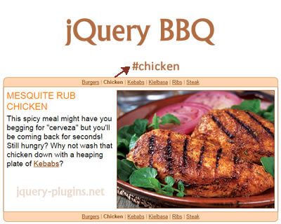 jQuery BBQ – Back Button & Query Library