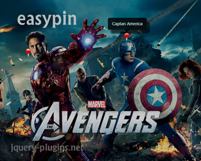 jQuery easypin – Simple Image Pinning Plugin